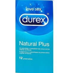 PRESER.DUREX NATURAL 12 UNDS.EASY ON