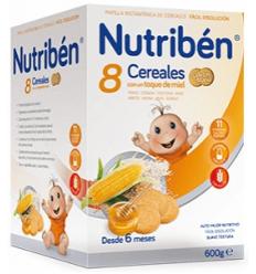 NUTRIBEN 8 CER. Y MIEL CON GALLETA 600 GR