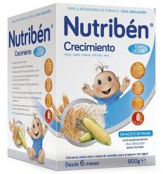 NUTRIBEN CRECIMIENTO C/LECHE ADAPT. 600G