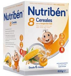 NUTRIBEN CREC 8 CER MIEL 600