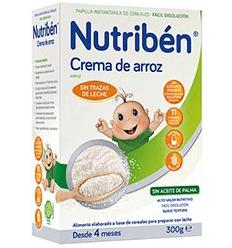 NUTRIBEN HARINA CREMA DE ARROZ DE 300 GR
