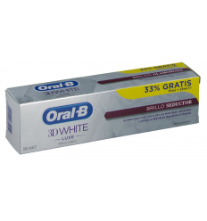 ORAL-B 3D WHITE BRILLO SEDUCTOR BONUS PACK 75+25ML 100 ML