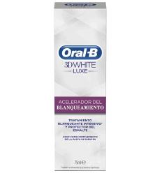 ORAL-B 3D WHITE ACELERADOR 75 ML.