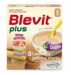 BLEVIT PLUS 8 CER MIEL + GALLETA 600 GR