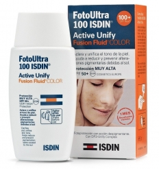 FOTOULTRA ISDIN SPF 100+ ACTIVE UNIFY FUSION FLUIDO COLOR