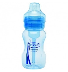 BIBERON 0 BPA BA DR BROWN´S NATURAL FLOW AZUL 24